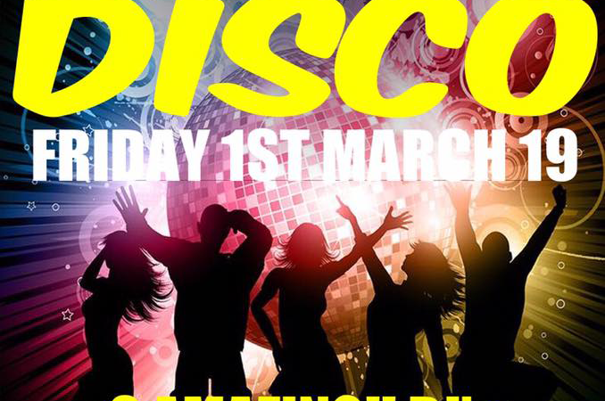 70s & 80s Disco (Mar 2019)