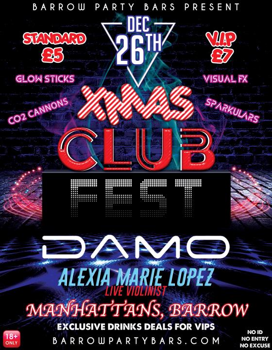 XMAS Club Fest (Dec 2018)