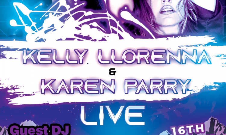 Kelly Llorenna & Karen Parry LIVE (Mar 2019)