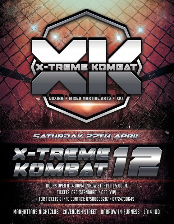 Xtreme Kombat 12 (Apr2019)